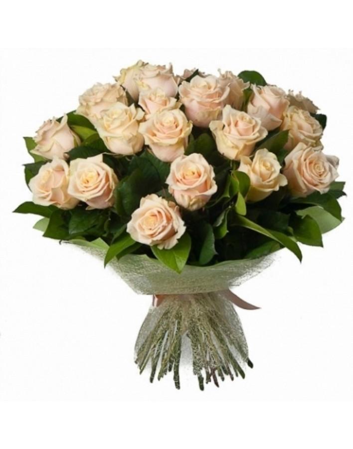 Купить цветы кремовые розы минск, цветок